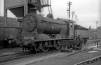 J37 0-6-0 64571 on Dunfermline shed in 1964