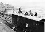 Camping coach sandsend 1936
