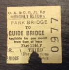 Park Bridge to Guide Bridge Ticket