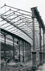 Demolition of Euston station train shed