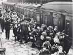 Evacuees Liverpool Lime Street Station