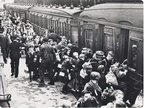Evacuees Liverpool Lime Street Station