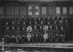 Ambulance-Train-6304-World-War-Two-RAMC-QAIMNS-Staff-photo