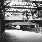 A near derelict Exchange station from platform 14 at Manchester Victoria 7.11.1976