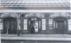 Euston road Station Morecambe booking office and platforms