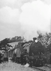 31842 leaving Boscarne Junction with a freight for Bodmin General in 1964.