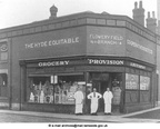 HYDE - Furnace Street, Flowery Field. The Hyde Equitable Co-operative Society Limited (Grocery, Provision & Butchery).