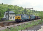 76009 and another at Aldham Junction on a coal train on April 03, 1981