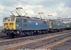 76014 and 76015 at Guide Bridge on April 23, 1981