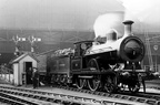North Stafford Railway 2-4-0 No19 Manchester London Road