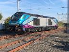 68029 arrives at Manchester International Depot.26-07-2018