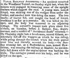 Derby Mercury 27 October 1847