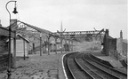 Ashton Park Parade station on the day of closure 3.11.1956.