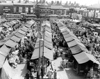 Ashton Market Good old days - never thought the market would be as empty as it is now