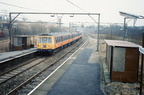 303 at Godley station 18.1.1988.