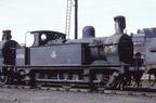 Johnson Class 1F 0-6-0T 41702 at Gorton shed