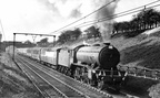 After the war there was a tendency to write off the Manchester – Marylebone service as being a rather second division service yet even for the electrics arrived in 1954,