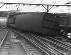 Accident at Guide Bridge Railway Station 1950s 2