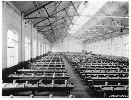 Mess room Dukinfield Works after construction about 1914 it was one of the most modern in Europe