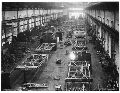 Dukinfield Works after construction about 1914 it was one of the most modern in Europe