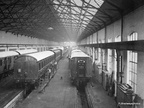 Carriage Lifting Shop Dukinfield Works in L N E R days