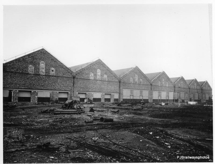 Dukinfield Works under construction 1907-1910 it was one of the most modern in Europe