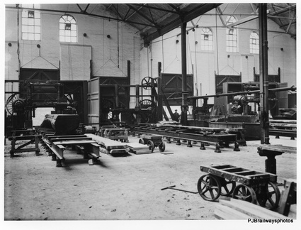 Saw Mill Dukinfield Works after construction about 1914 it was one of the most modern in Europe