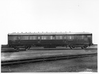 CARRIAGE BUILT IN 1933 ORIGINAL No 32556  1946 No  10097 Diagram 175  FIRST THIRD CLASS COMPOSITE BRAKE AT DUKINFIELD WORKS