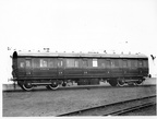 CARRIAGE BUILT AT DUKINFIELD IN 1934 ORIGINAL No 63869  1946 No 88096  Diagram 50 FIRST / THIRD CLASS COMPOSITE {L} AT DUKINFIELD WORKS