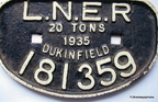Wagon Plate from Dukinfield