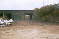 Former entrance into the works from Dewsnap bridge