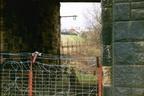 Former rail entrance into works