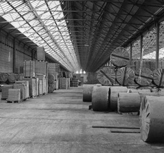 The Carriage erecting shop in the 1970s