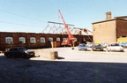 Demolition of the Mess room in the 1990s
