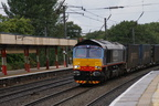 66412 Passing Lancaster Station