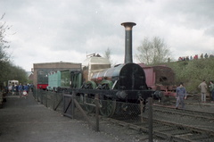 Lion at Dinting Railway Centre in the 1980s