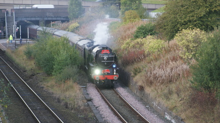 60163 TORNADO AT DENTON STATION 21-09-2011