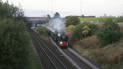 60163 at Denton Station 21-09-2011 010