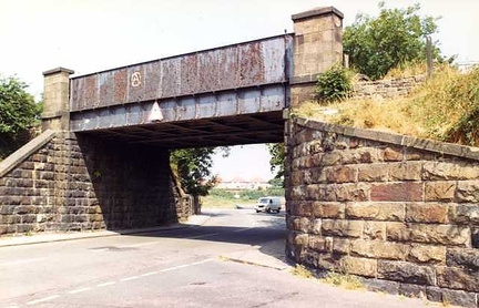 Bridge used to carry the Glasson Dock Line