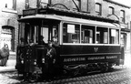 09-Hurst Cross tram, year unknown.