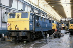 39-76 043 undergoing stripping for parts in Reddish depot