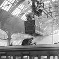 Victoria Station Overhead parcels carrier, 1919
