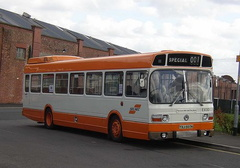 Manchester transport museum in Cheetham Hill