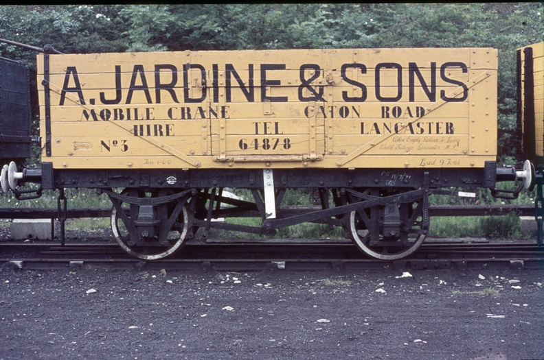 JARDINE & SONS MOBILE CRANE HIRE WAGON LANCASTER