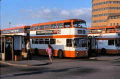 Ashton-Under-Lyne Bus Station in 1981