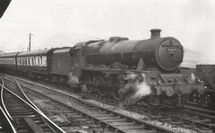 087-A rare picture of Jubilee Windward Isles taken passing through Greenfield (Greater Manchester), in the summer of 1952.