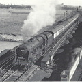 Royal Scot No 46109 Royal Engineer mid 1950's copyright David St Jonh Thomas & Patrick Whitehouse