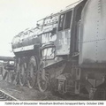 71000 at Barry scrap yard 1968