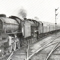169-B1 61162 and Jubilee 45656 Cochraine on down Thames-Clyde Express 8 June 1960