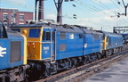 207-Martyn Hilbert's Railway Photography - BR Blues  Class 76, 76010 at Guide Bridge.
